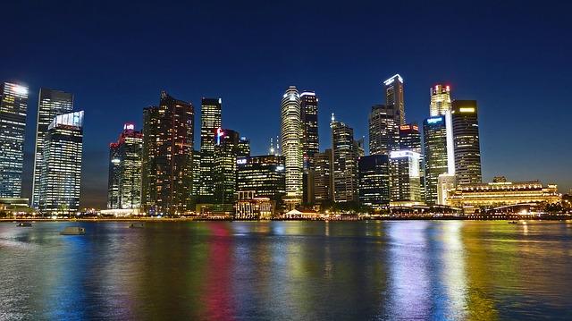 Mestá a letoviská v Singapure